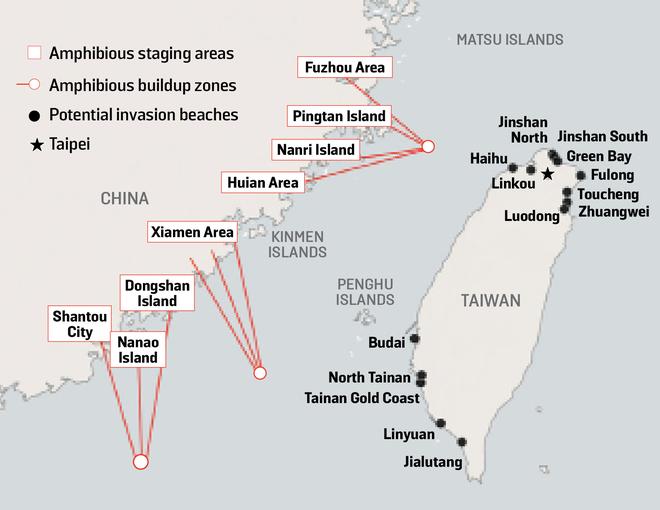 Chế tên lửa siêu thanh tàng hình trước vệ tinh Mỹ, TQ tính chơi lớn ở eo biển Đài Loan? - Ảnh 5.