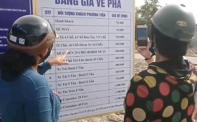 """Hay tin đi phà từ Sài Gòn đến Vũng Tàu chỉ mất 30 phút, nhiều người tới nơi thấy bảng giá xong """"suýt ngất"""" đòi về"""