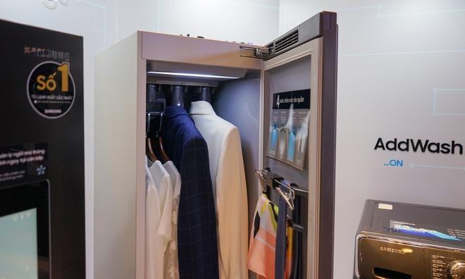 Chiêm ngưỡng siêu tủ lạnh thông minh có thể điều khiển máy giặt, TV, máy lọc không khí - Ảnh 3.