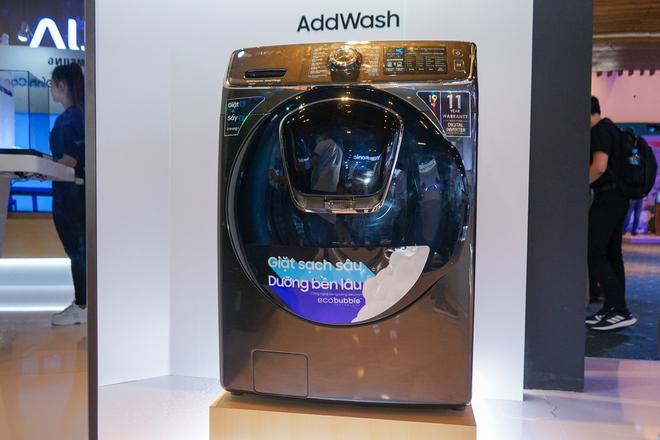 Chiêm ngưỡng siêu tủ lạnh thông minh có thể điều khiển máy giặt, TV, máy lọc không khí - Ảnh 4.