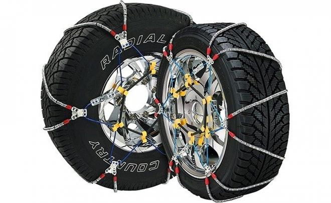 Khám phá xích bọc lốp xe chuyên biệt cho mùa đông băng giá - Ảnh 3.