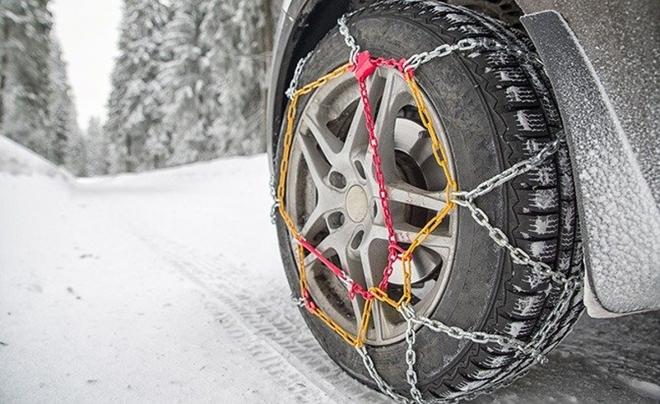 Khám phá xích bọc lốp xe chuyên biệt cho mùa đông băng giá - Ảnh 7.