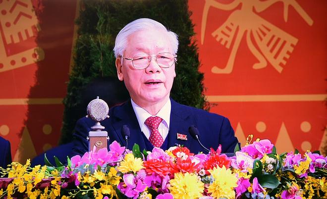 Ảnh: Toàn cảnh phiên bế mạc Đại hội đại biểu toàn quốc lần thứ XIII của Đảng - Ảnh 11.