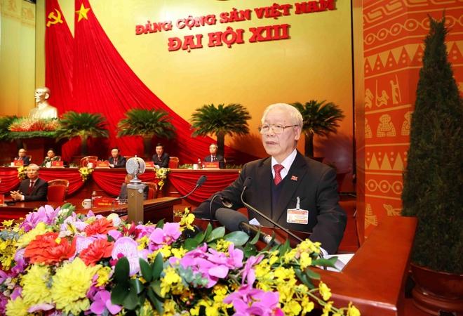Ảnh: Toàn cảnh phiên bế mạc Đại hội đại biểu toàn quốc lần thứ XIII của Đảng - Ảnh 13.