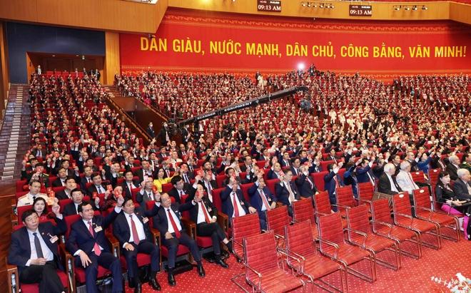 Ảnh: Toàn cảnh phiên bế mạc Đại hội đại biểu toàn quốc lần thứ XIII của Đảng - Ảnh 14.