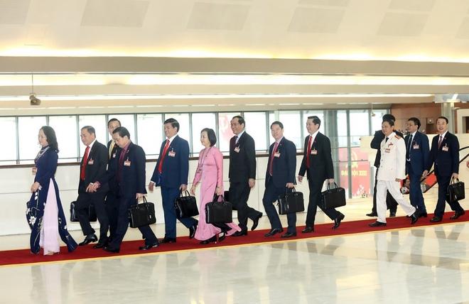 Ảnh: Toàn cảnh phiên bế mạc Đại hội đại biểu toàn quốc lần thứ XIII của Đảng - Ảnh 3.