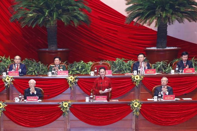Ảnh: Toàn cảnh phiên bế mạc Đại hội đại biểu toàn quốc lần thứ XIII của Đảng - Ảnh 4.