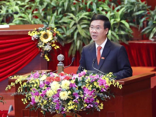Ảnh: Toàn cảnh phiên bế mạc Đại hội đại biểu toàn quốc lần thứ XIII của Đảng - Ảnh 8.