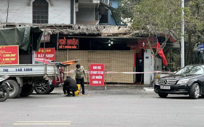 Quán phở ở Hạ Long ngăn cán bộ y tế phun khử trùng bị xử phạt 15 triệu đồng, đình chỉ kinh doanh
