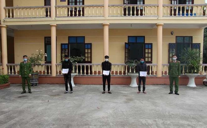 Bắt 3 kẻ giả cán bộ phòng dịch Covid-19 cưỡng đoạt tiền, đánh người ở Quảng Ninh