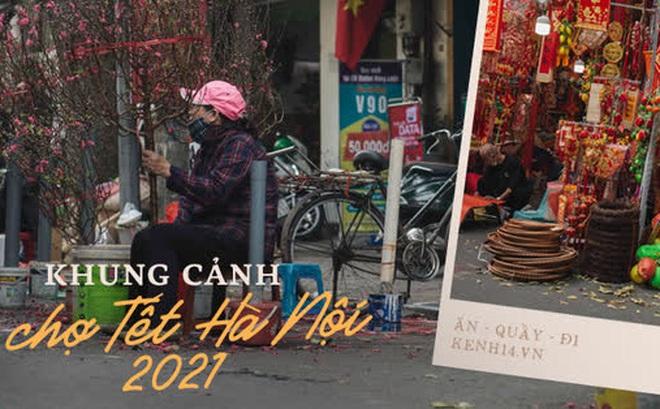Khung cảnh những khu chợ Tết lớn nhất tại Hà Nội: Vắng vẻ hơn mọi năm nhưng không khí đón năm mới vẫn tràn đầy!