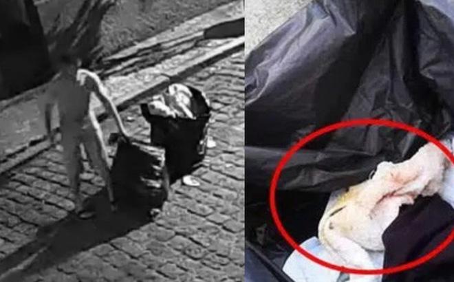 Cặp đôi trẻ nửa đêm lén lút đi vứt rác, hôm sau đồng nát mở bọc nilon hoảng hốt vì thứ bên trong, phát hiện tội ác không thể chấp nhận