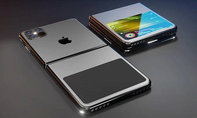 Apple sẽ ra mắt iPhone màn hình gập dạng vỏ sò trong tương lai? - Ảnh 2.