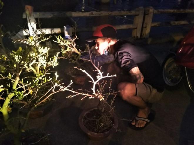 Đêm giao thừa người TPHCM soi đèn mua hoa Tết giải cứu nông dân - Ảnh 1.