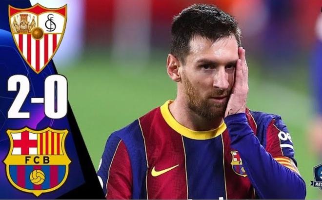Messi cúi đầu rời sân, HLV Mourinho lại ôm trái đắng trong ngày Man City ca khúc khải hoàn