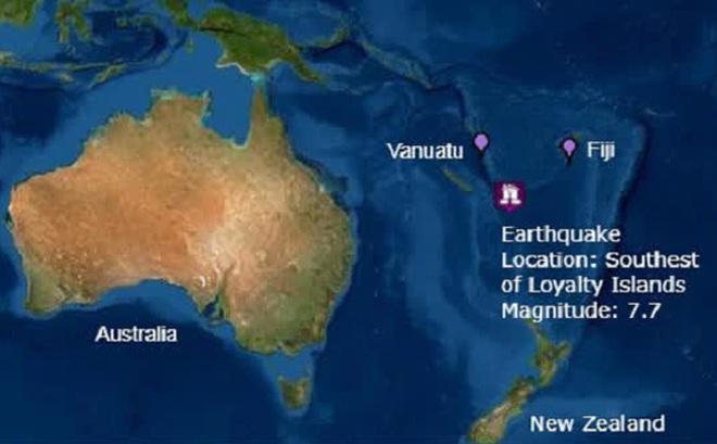 Động đất mạnh 7,7 độ tại Bắc New Zealand, cảnh báo sóng thần ở Nam Thái Bình Dương