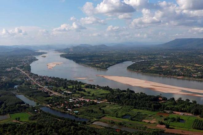 Trung Quốc kín tiếng khi mực nước sông Mekong giảm gần 50% trong tháng 2 - Ảnh 1.