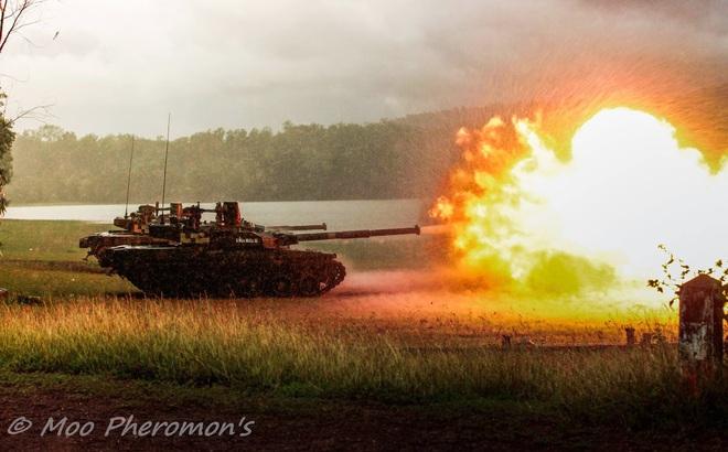 """Xe tăng """"vượt mặt T-90"""" của Ukraine xuất hiện bí ẩn ở Mỹ, 1 quốc gia ĐNÁ được nhắc tên: Vì sao?"""
