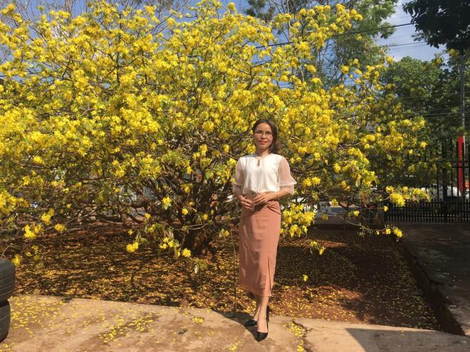 Nườm nượp du khách đến check-in tại cây mai vàng 57 tuổi ở Đồng Nai - Ảnh 3.