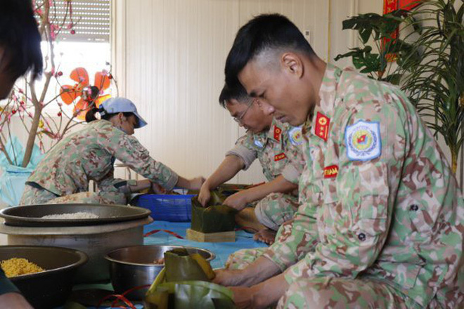 Tết xúc động kỳ lạ của người lính mũ nồi xanh Việt Nam tại Nam Sudan - Ảnh 4.