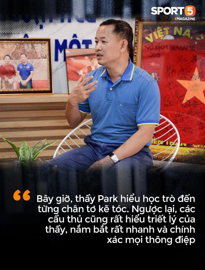 Trợ lý Lê Huy Khoa: Với thầy Park, chúng ta chỉ có tiến chứ không có lùi - Ảnh 6.