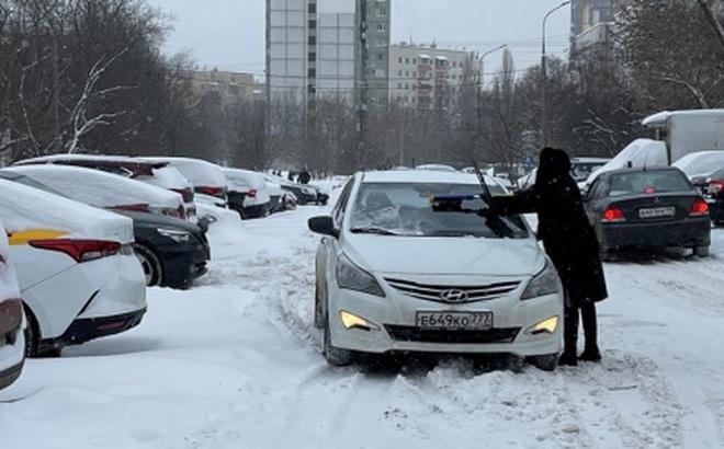 Nga đang hứng chịu bão tuyết mạnh kỷ lục trong 47 năm qua