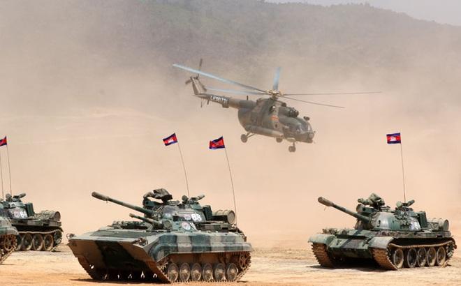 """Campuchia hủy bỏ tập trận quân sự với Trung Quốc: """"Không phải tay sai của Bắc Kinh""""!"""