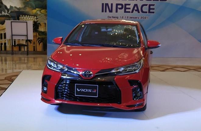 """Cận cảnh """"hàng nóng"""" Toyota Vios 2021 tại Việt Nam, giá bán bao nhiêu? - Ảnh 1."""