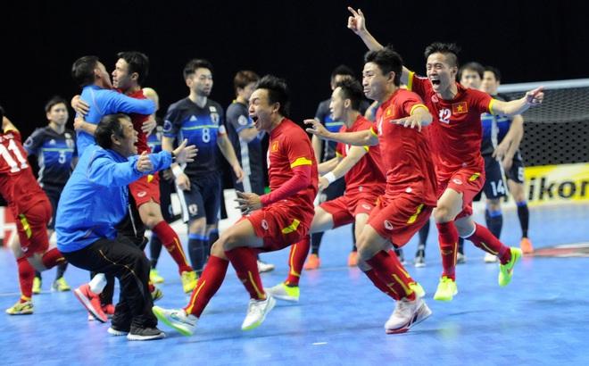 Ngày này năm xưa: ĐT Futsal Việt Nam hạ gục Nhật Bản, làm nên lịch sử