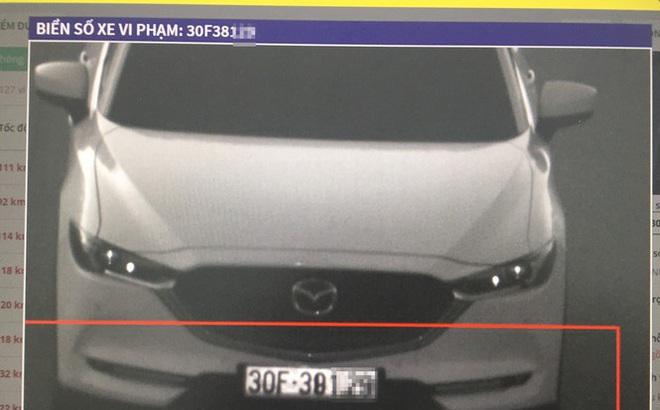 Camera cao tốc Nội Bài - Lào Cai phát hiện gần 600 phương tiện vi phạm ngày Tết