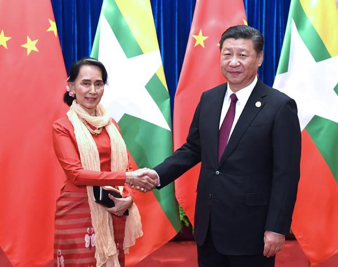 """""""Đục nước béo cò"""": Bắc Kinh ngấm ngầm thu lợi nhiều nhất sau đảo chính quân sự ở Myanmar! - Ảnh 2."""