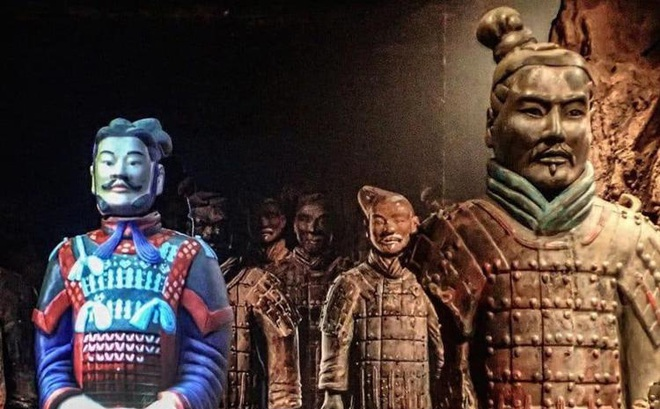 Lý do bất ngờ khiến tượng binh mã trong lăng mộ Tần Thủy Hoàng đều không đội mũ sắt