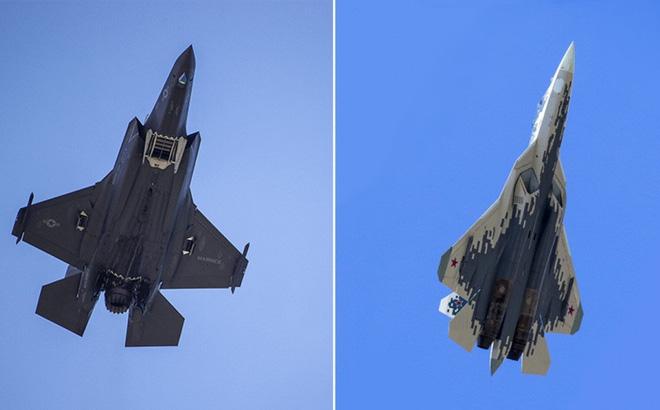 Siêu tiêm kích F-35 của Mỹ hay Su-57 của Nga giành chiến thắng nếu đối đầu với nhau?