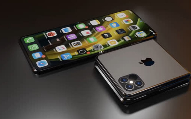 iPhone màn hình gập sẽ sử dụng tấm nền OLED do LG cung cấp, ra mắt trong năm 2023