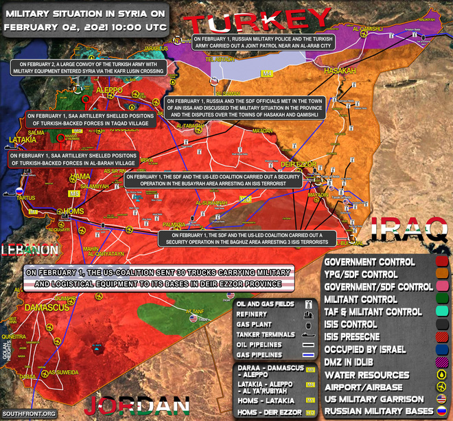 Máy bay Mỹ đột kích không phận Syria, căn cứ Nga bị đưa vào tầm ngắm - Iran phóng tên lửa, gửi cảnh báo nóng tới ông Biden - Ảnh 1.