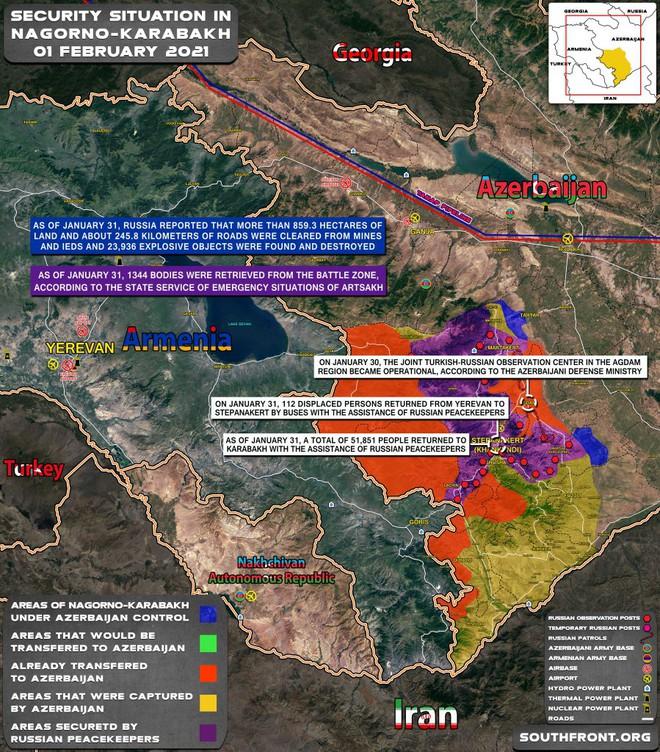 Iran vừa phóng tên lửa đẩy đặc biệt, căng thẳng tăng cao - Diễn biến mới nhất chiến sự Azerbaijan và Armenia - Ảnh 2.