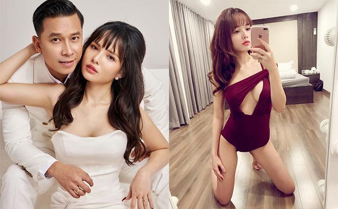 Bà xã hot girl gợi cảm của Lê Hoàng The Men
