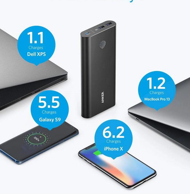 Từ 700k đã mua được pin dự phòng sạc tốt cho cả laptop Ultrabook lại đa cổng, nhiều tính năng hay ho - Ảnh 4.