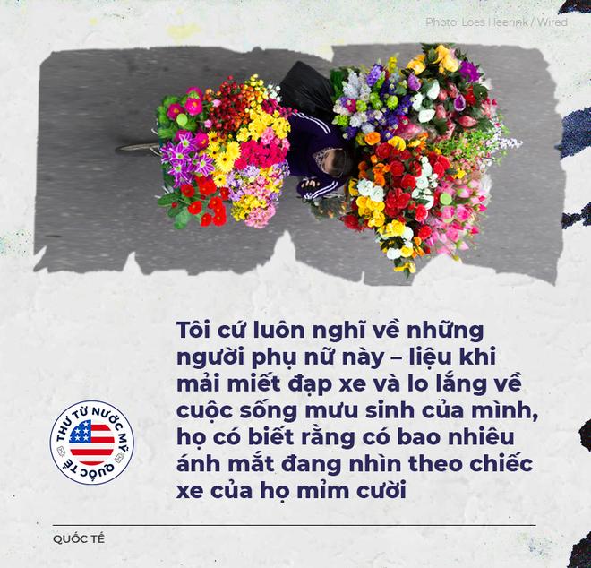 Thư từ nước Mỹ: Những người anh hùng đạp xe cà tàng trên đường phố Hà Nội - Ảnh 4.