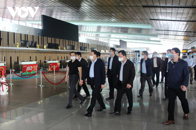Quảng Ninh sẵn sàng các điều kiện để sân bay Vân Đồn hoạt động trở lại - Ảnh 2.