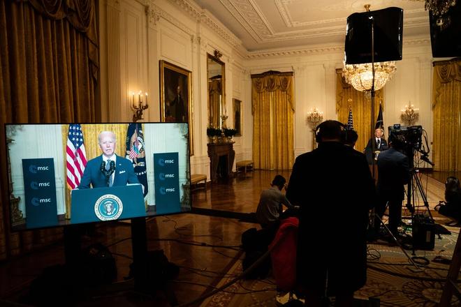TT Biden chính thức khai tử Nước Mỹ trên hết của ông Trump, gửi lời tuyên chiến chắc nịch tới TQ - Ảnh 1.