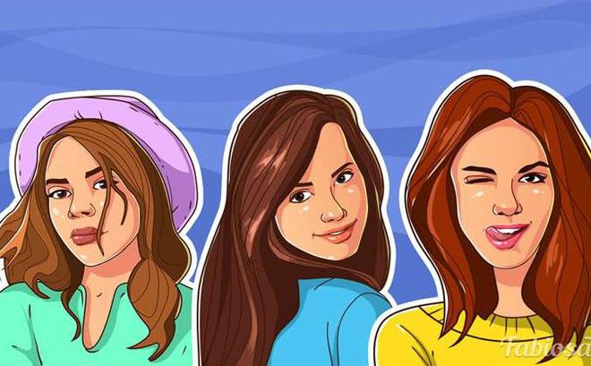 Đọc ngôn ngữ hình thể: Cô gái nào trong tranh đang muốn cuốn hút người khác?