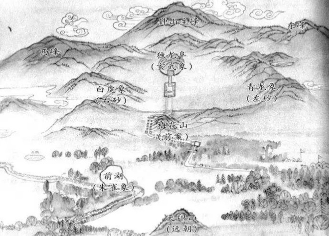 Phong thủy trong các lăng mộ hoàng đế Trung Hoa: Xây dựng ra sao để vương triều bền vững? - Ảnh 3.
