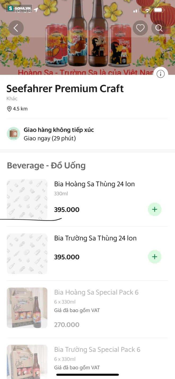 Bia Việt Nam đầu tiên mang tên Hoàng Sa, Trường Sa: Trên vỏ chai có dấu tích khẳng định chủ quyền biển đảo - Ảnh 4.