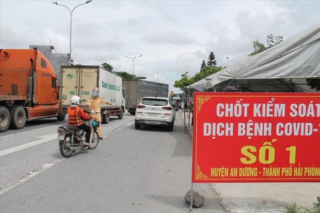 """Hải Dương """"nhờ"""" Bộ GTVT """"gỡ"""" phong tỏa để hàng hóa qua Hải Phòng - Ảnh 1."""