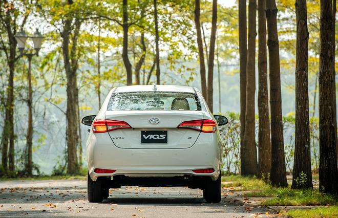 Chiếc Toyota Vios 2021 đầu tiên xuất hiện tại Việt Nam, giá chỉ từ 478 triệu đồng - Ảnh 6.