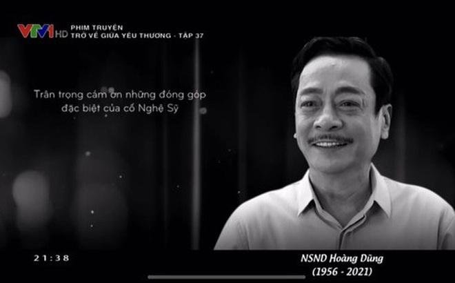 Rơi nước mắt với thước phim đặc biệt của cố NSND Hoàng Dũng trên VTV