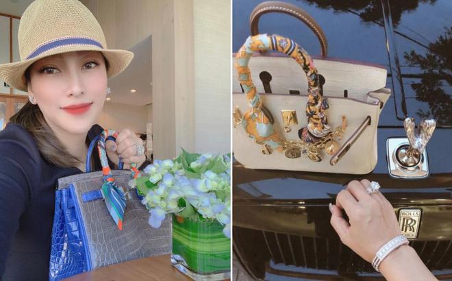 """Người vợ bị đại gia Minh Nhựa đòi ly hôn, báo """"mất tích"""": Nữ doanh nhân có thú chơi siêu xe khiến đàn ông cũng phải nể"""