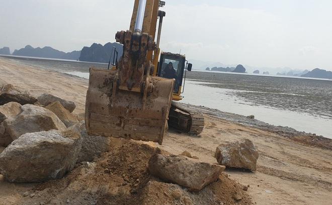 Dự án BĐS 'hot' nhất Vân Đồn bị phạt vì lấn chiếm trái phép vịnh Bái Tử Long