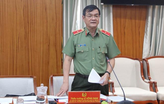Thiếu tướng Lê Hồng Nam làm Trưởng Tiểu ban an ninh bầu cử ĐBQH tại TPHCM - Ảnh 2.